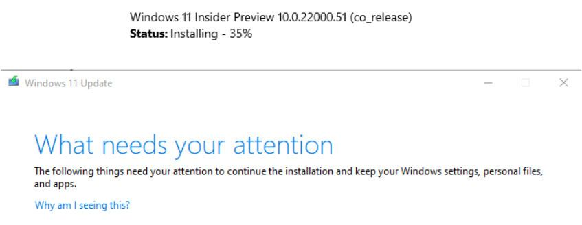 Cover image for Windows 11 update stuck at 35%?