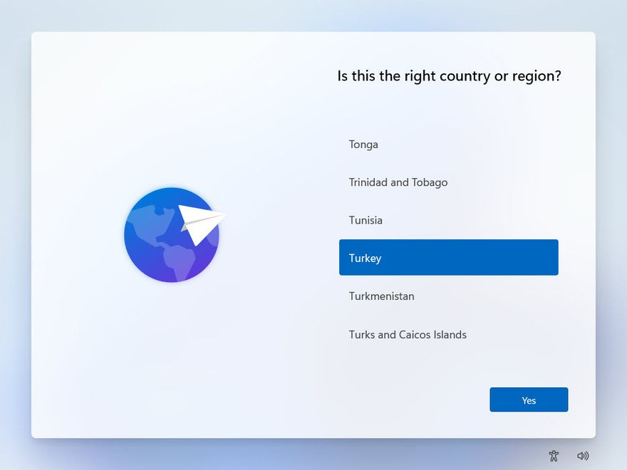 Is this the right country or region?
