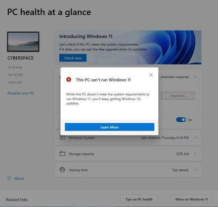 Cover image for [Solved] This PC can't run Windows 11