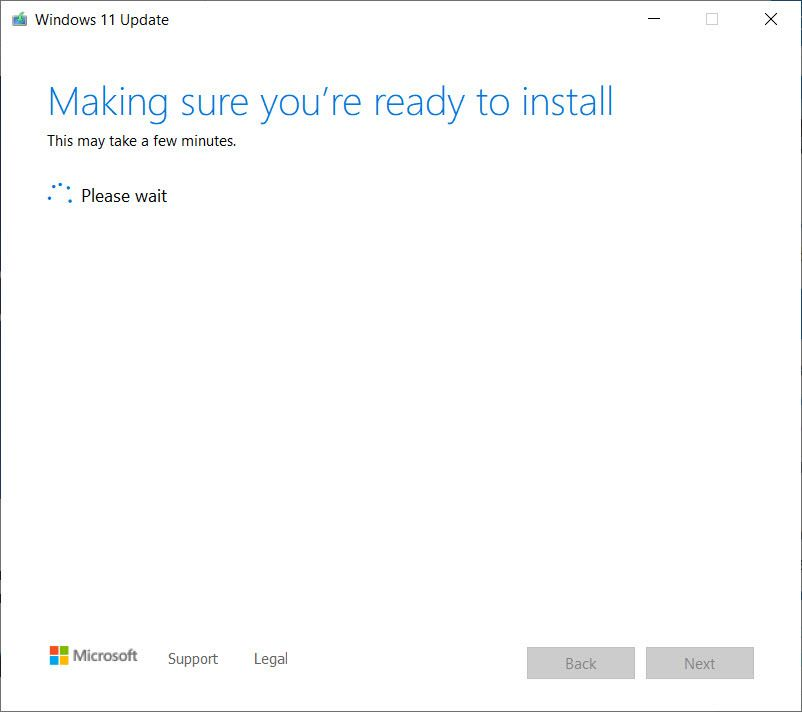 Making sure you're ready to install Windows 11